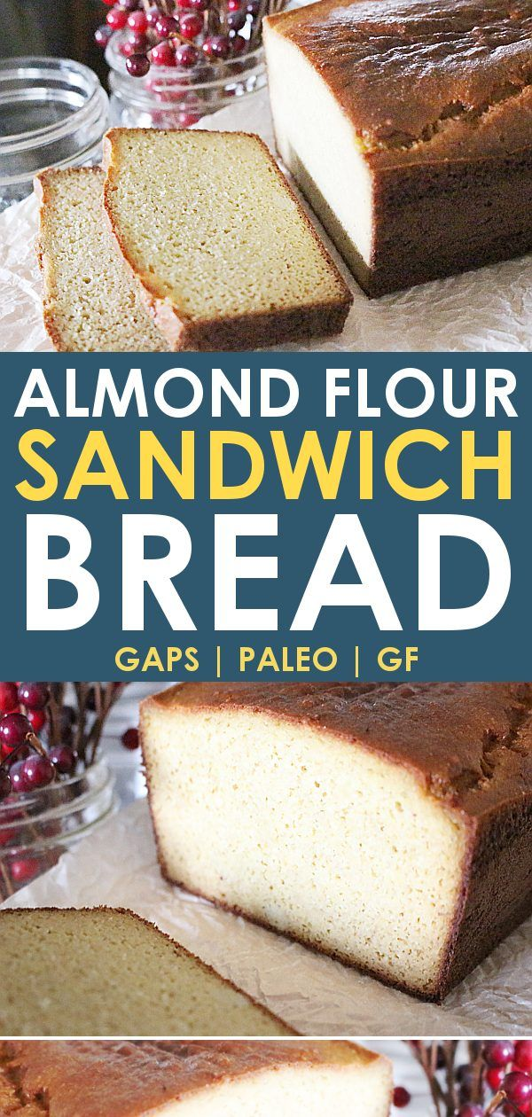 Paleo Bread - The Best Low Carb Almond Flour Bread Recipe