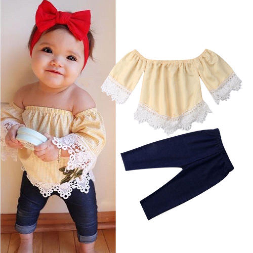 bebe Girls Toddler Offshoulder Legging Set