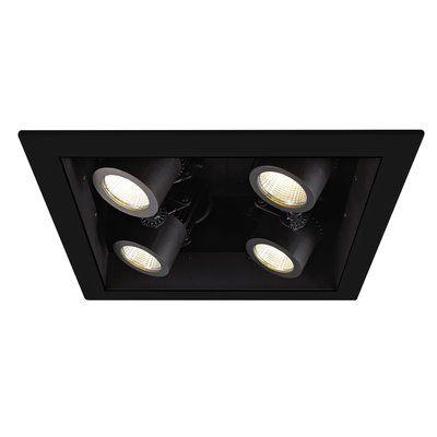 Wac Lighting Precision 4 Multi Spotlight Recessed Lighting Kit Wayfair Recessed Lighting Kits Recessed Lighting Wac Lighting