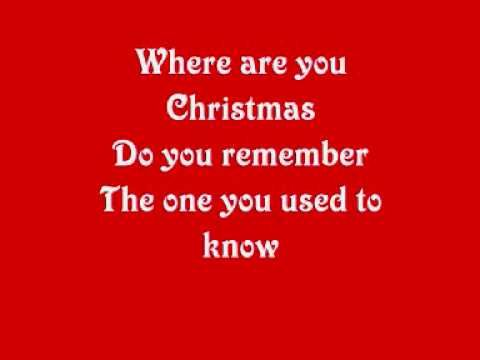 Where Are You Christmas Lyrics.Faith Hill Where Are You Christmas Savevoip Us