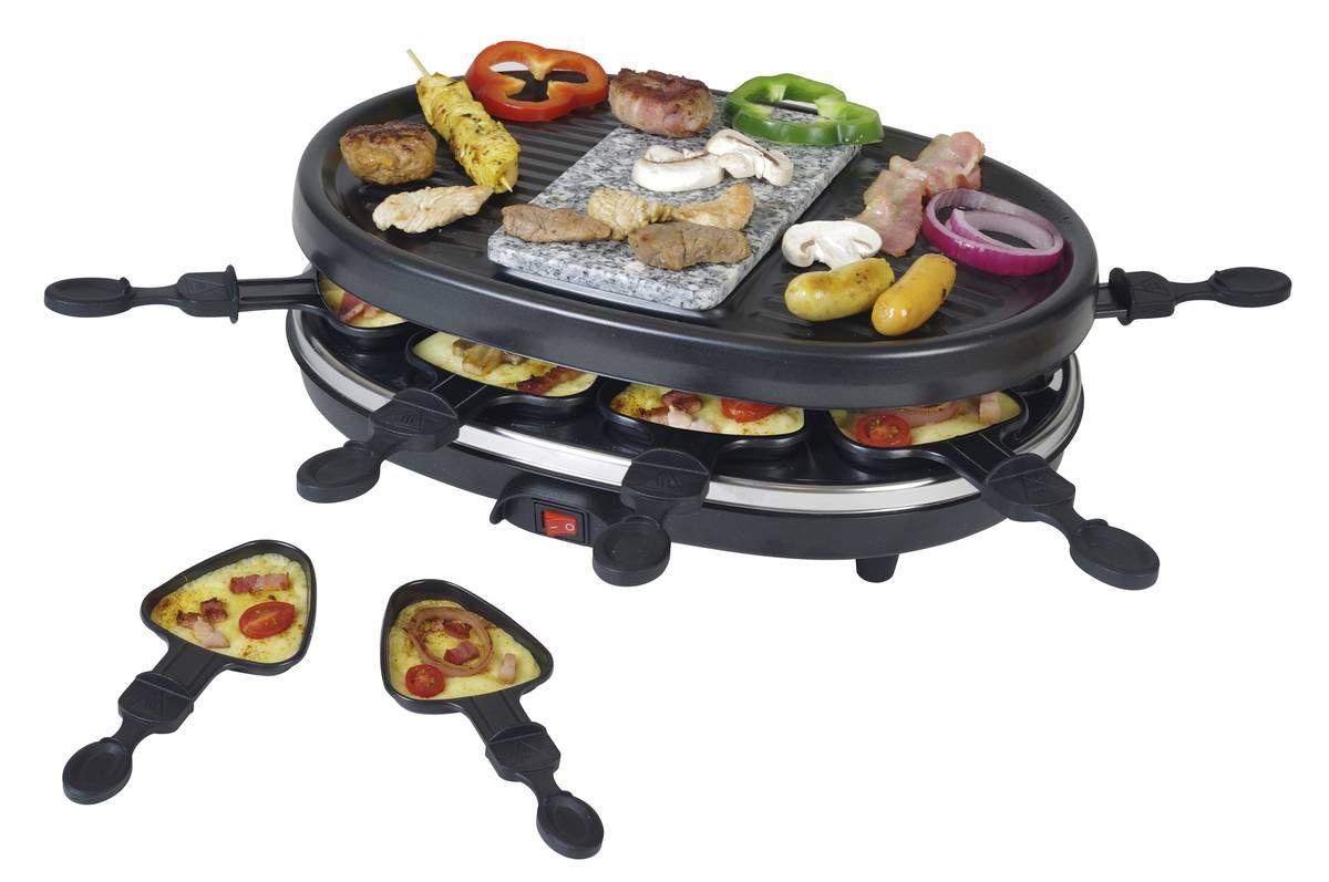 2in1 Raclette Grill Mit Heissem Stein Grillen Kochen Und Geniessen Kulinarisch