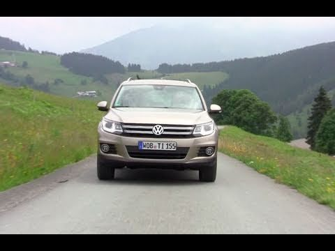 2012 Volkswagen Tiguan First Drive Review Volkswagen First Drive Driving