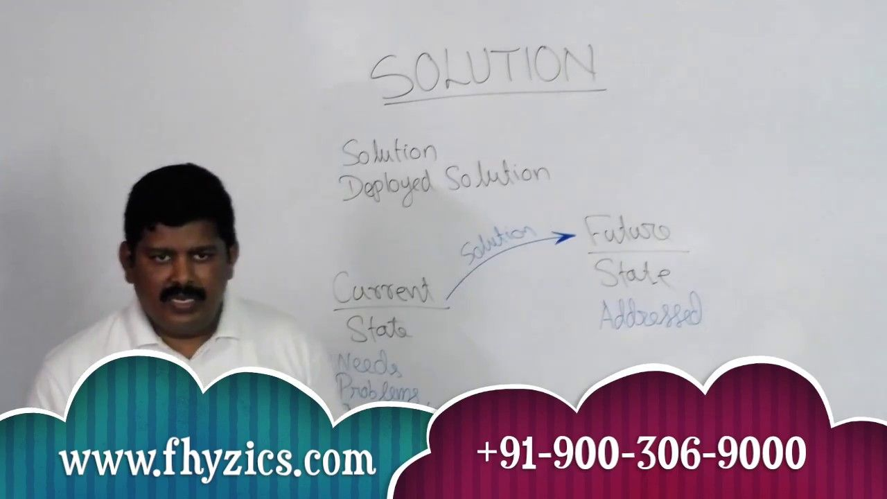 Business analysis video series what is solution