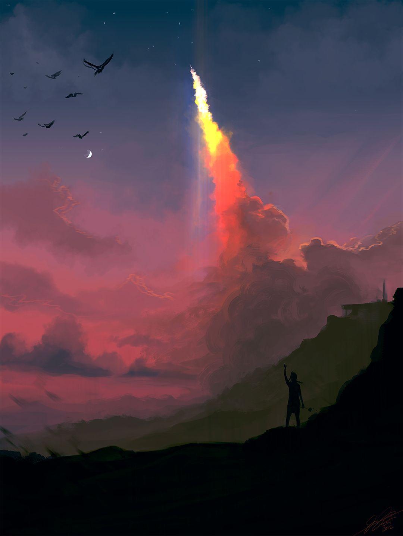 Leaving Heaven by Zigan.deviantart.com on @DeviantArt