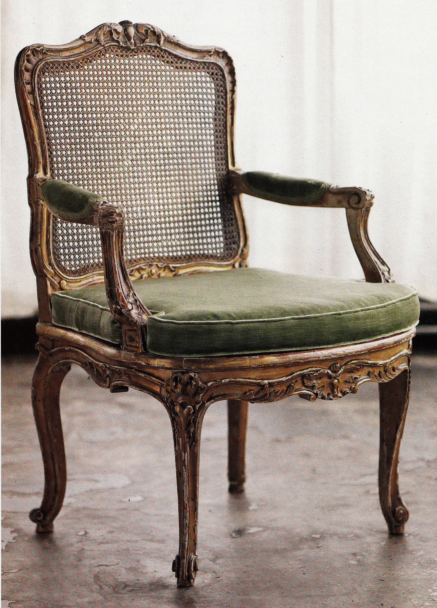 Circa 1880 Louis Xv Style Chair Antique French Furniture