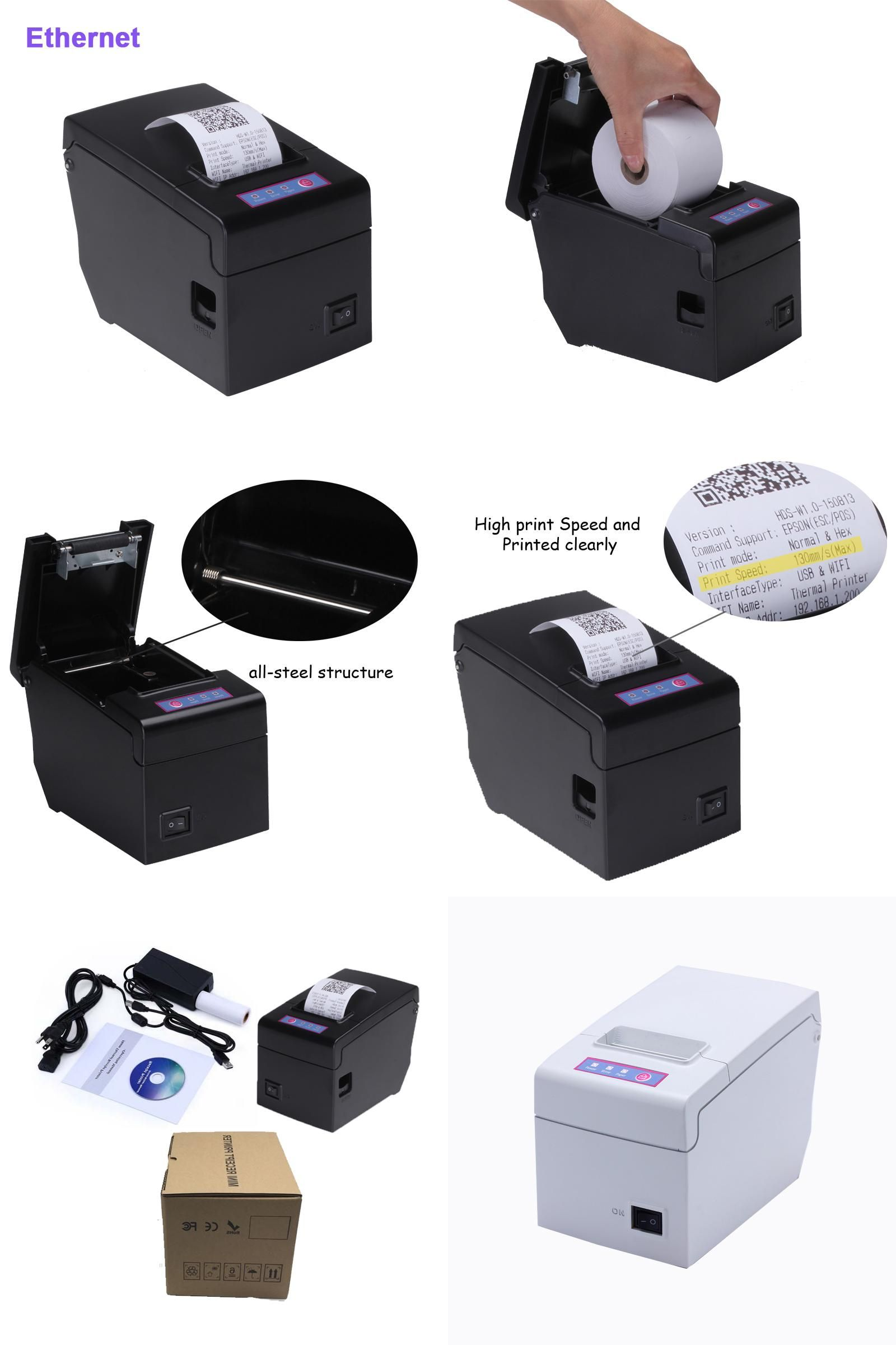 Visit to Buy] pos 58 printer thermal driver ticket printer ethernet