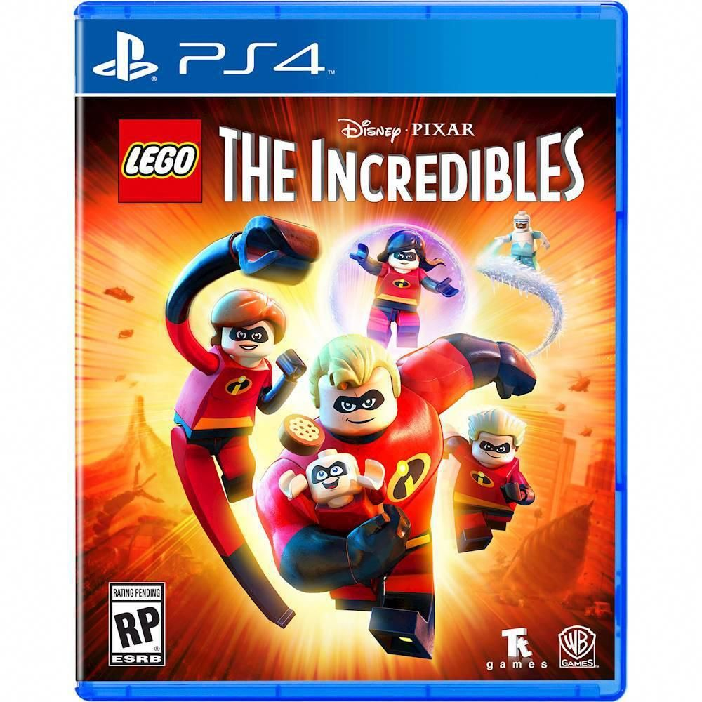 Lego The Incredibles Playstation 4 883929633012 With Images