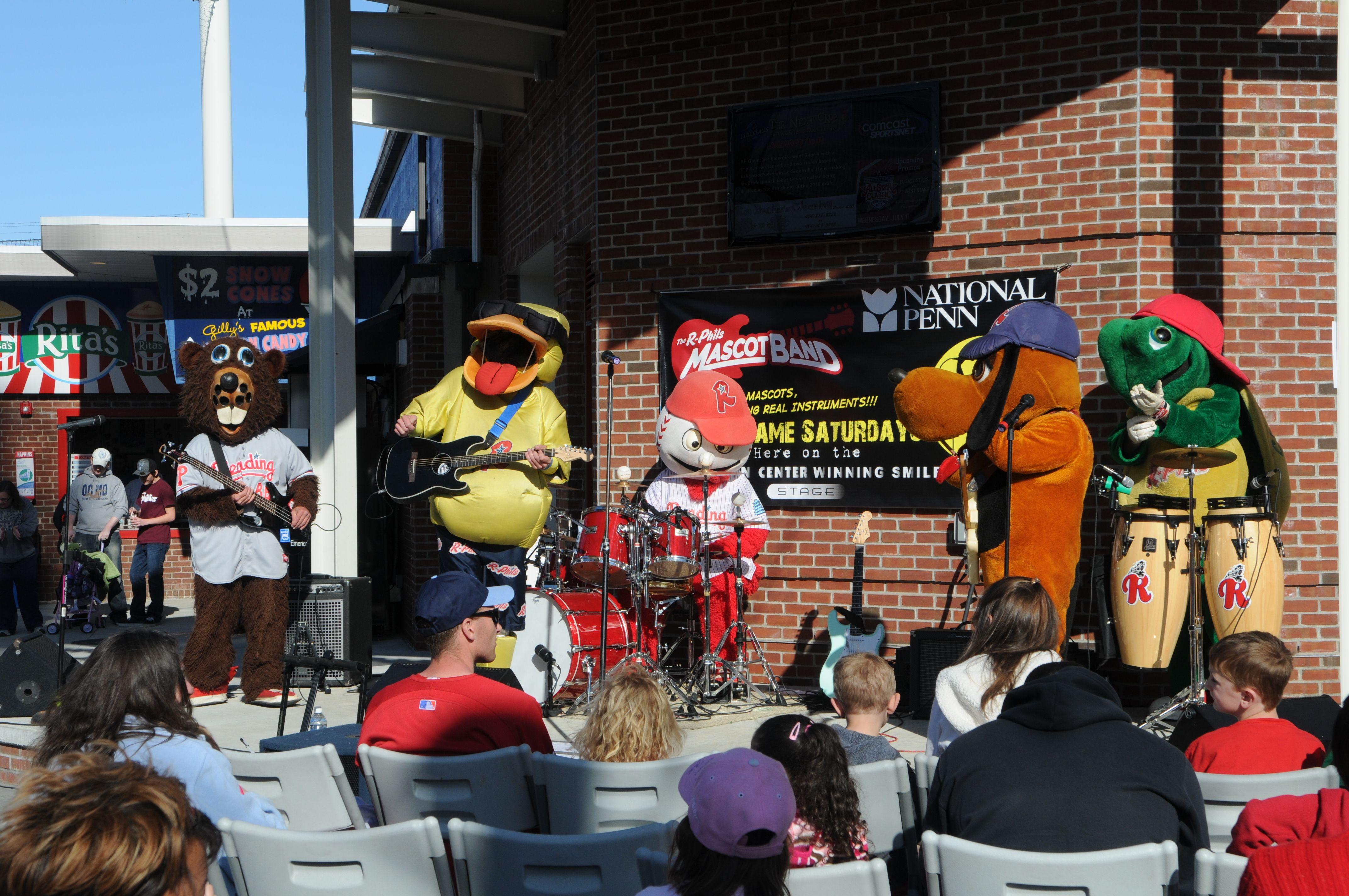 National Penn Bank Reading Phillies Mascot Band