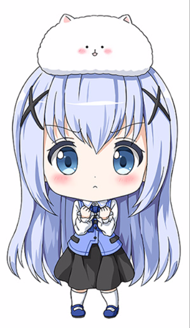 is the order a rabbit chibi chino anime pinterest chibi