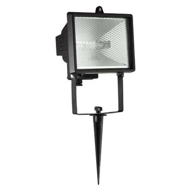 TANKO - Projecteur du0027extérieur à planter Noir H25cm Planters - eclairage exterieur detecteur automatique
