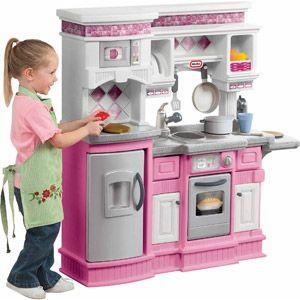 Little Tikes Gourmet Prep N Serve Kitchen, Pink | Little ...