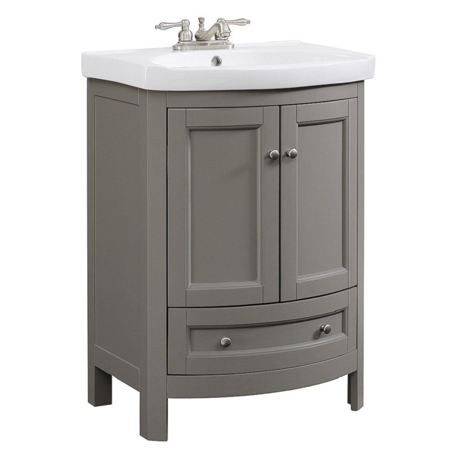 Runfine Group Single Bathroom Vanity 24 In Single Bathroom