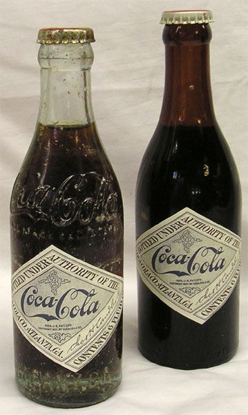 Coca Cola 1890 Coca Cola Bottles Circa 1890 S 1900 S