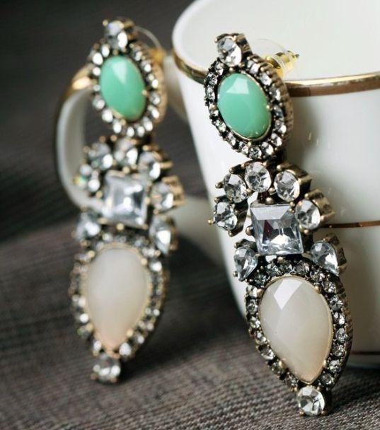 Shop the Marfic Earring at http://www.thedarkhorse.com.au/shopping/EARRINGS/MARFIC-EARRING---SIENNA-ELIZABETH  #thedarkhorse #tdhinspiration #siennaelizabeth #jewellery #earrings