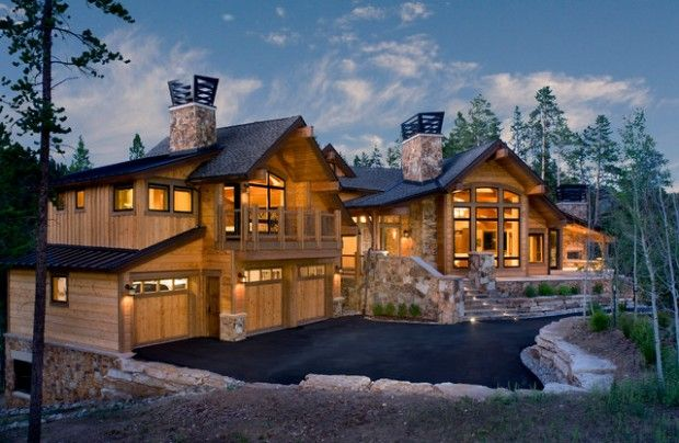 20 Amazing Rustic House Design Ideas Mountain Home Exterior House Designs Exterior Rustic House