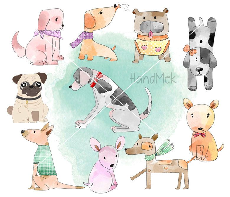 Dog Clipart Puppy Clipart Animal Clipart Png File 300 Dpi Puppy Clipart Dog Clipart Animal Clipart