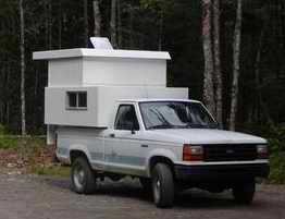 Diy Pop Up Truck Camper Pinteres