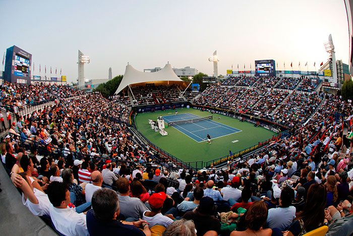 Dubai Duty Free Sponsorships Inclulde Dubai Duty Free Tennis Stadium