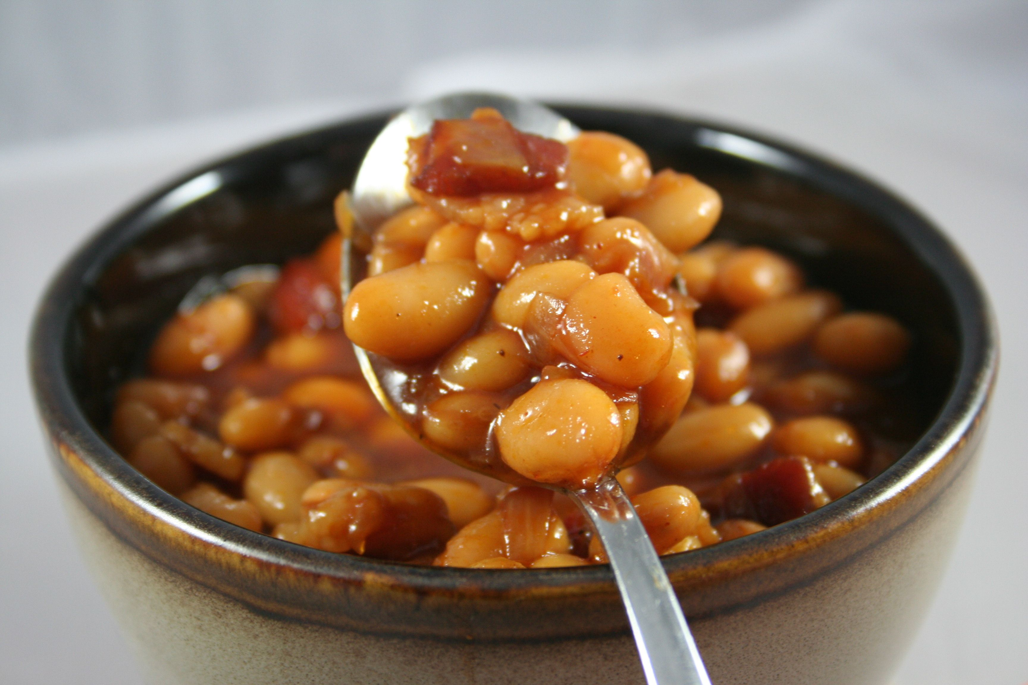 Barbecue Baked Beans, one of my favorite side dishes.