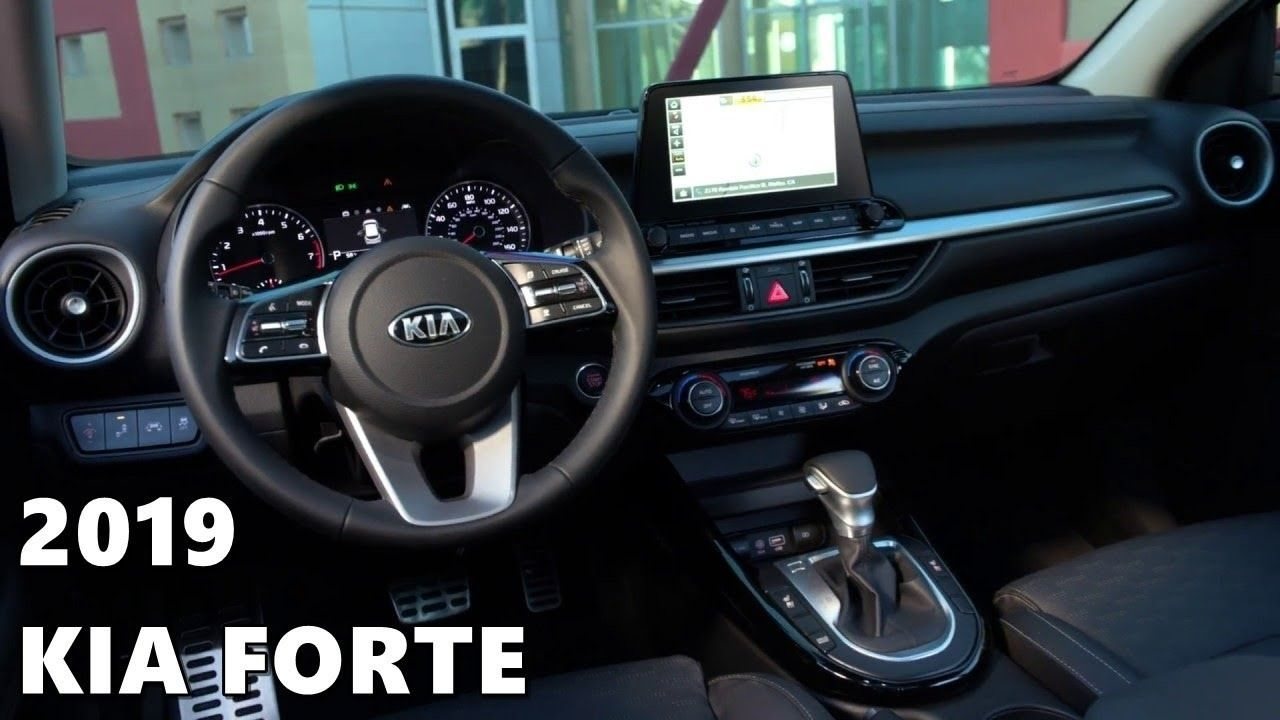 Kia Forte 2019 Interior Spy Shoot In 2020 Kia Forte Kia Hyundai Cars