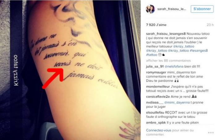 40+ Tatouage faute d orthographe trends