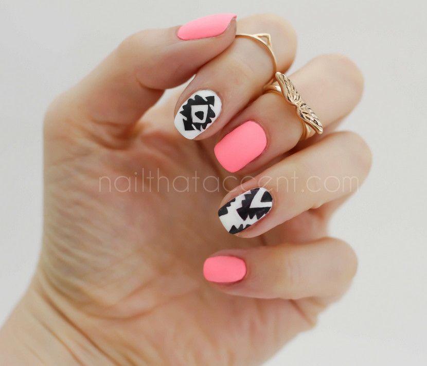 Cute Bright Nail Good Ideas | Manicure | Pinterest | Ideas, Good ...