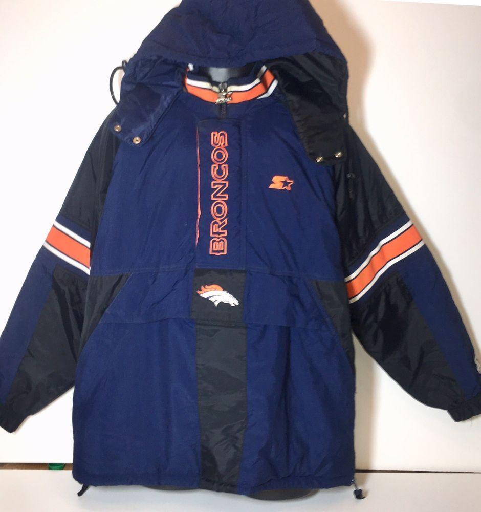 best service 02fcf 0f2ee Details about Denver Broncos Starter Pro Line Vintage 80s ...