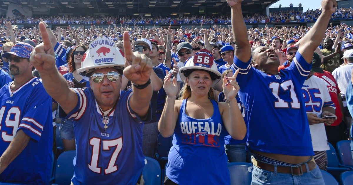 Bills fans named best in NFL according to SNF poll