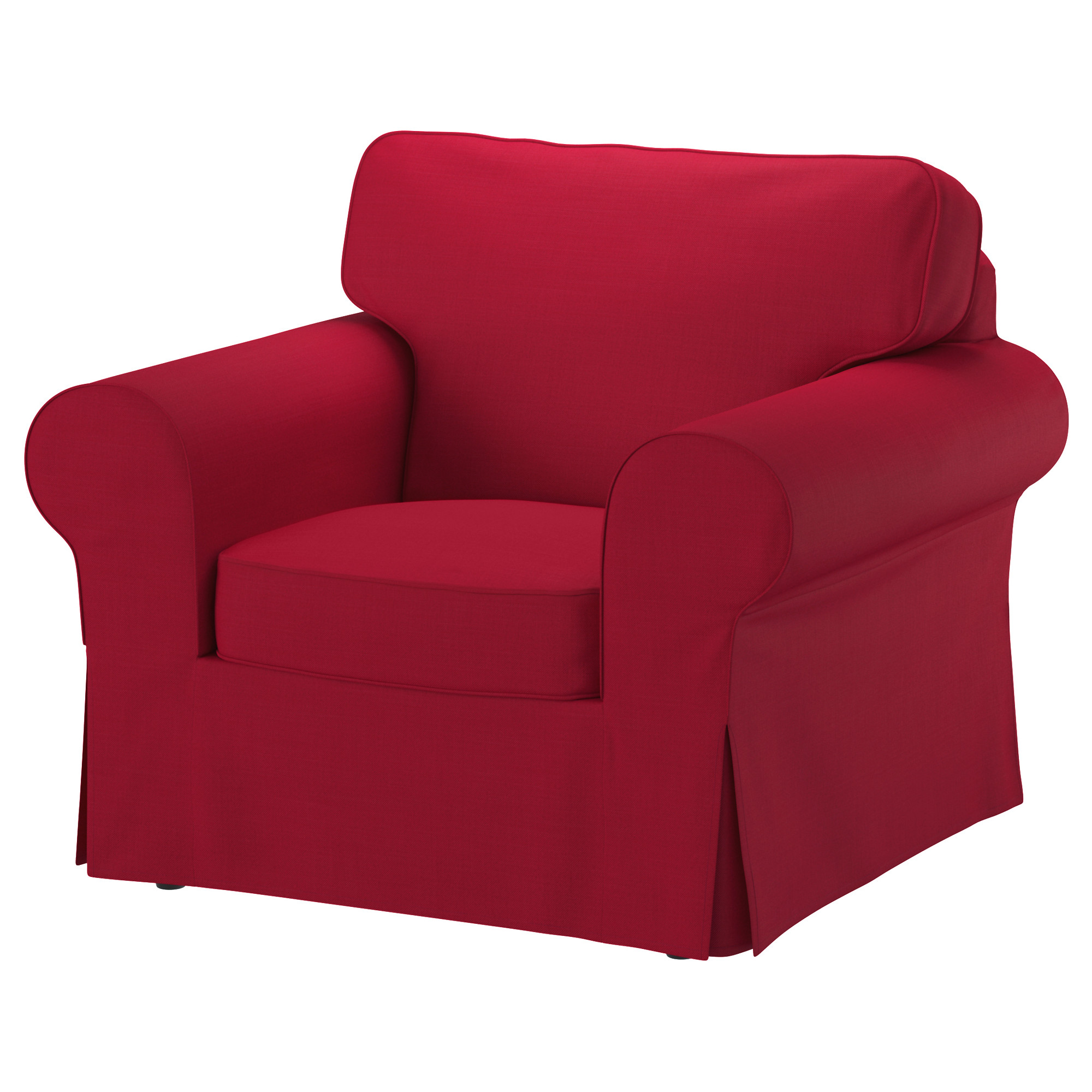 sofa chair ikea hanging teenager ektorp armchair nordvalla red products pinterest