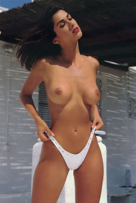 Beaded thong panties
