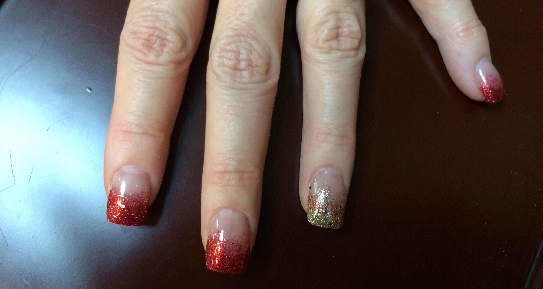 New year nail design | My nail designs | Pinterest | Fun nails