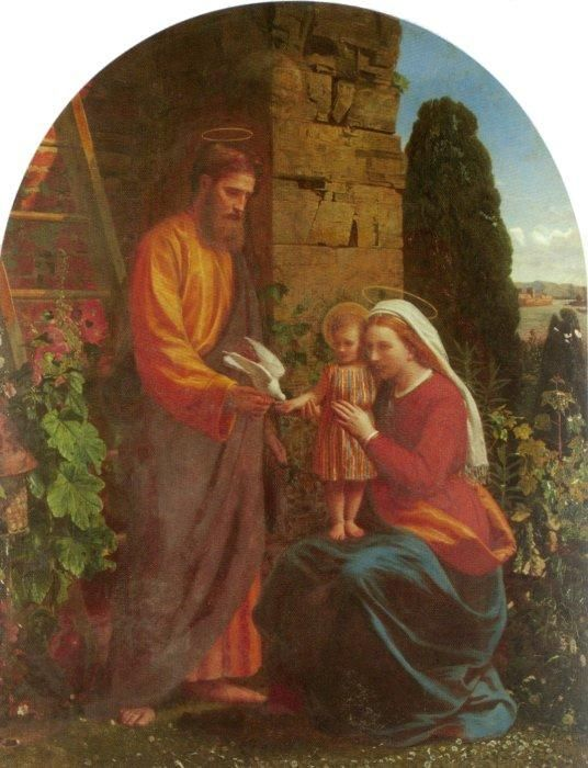 The Holy Family by James Collinson (1878)