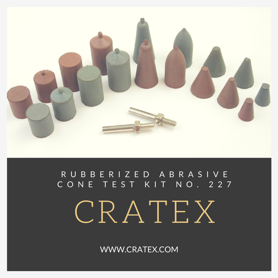 #Cratex Kit 227 - Ideal for smoothing, cleaning & polishing hard-to-reach surfaces