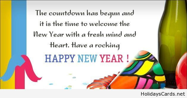 The new year countdown saying | Happy New Year | Pinterest