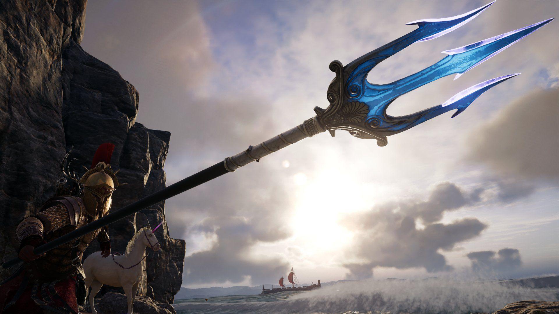 AC Odyssey Poseidon's trident