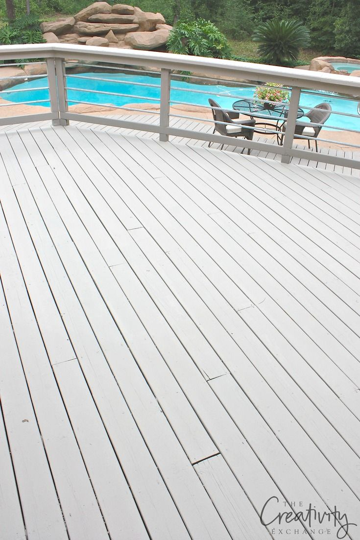 Best Paints To Use On Decks And Exterior Wood Features Painted Wood Deck Outdoor Deck Outdoor Wood Decking