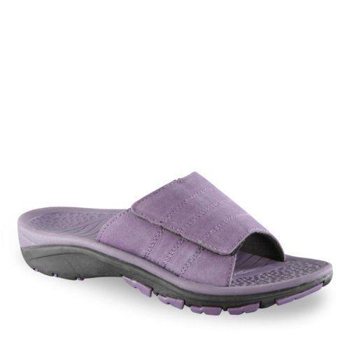 WalkSmart Women's Sport Slide Sandals WalkSmart. $49.99 | Sandals,  Comfortable womens shoes casual, Athletic shoes