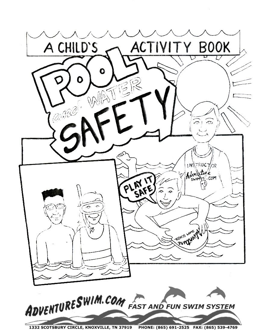water safety coloring pages | Water Safety Coloring Pages | Game ...