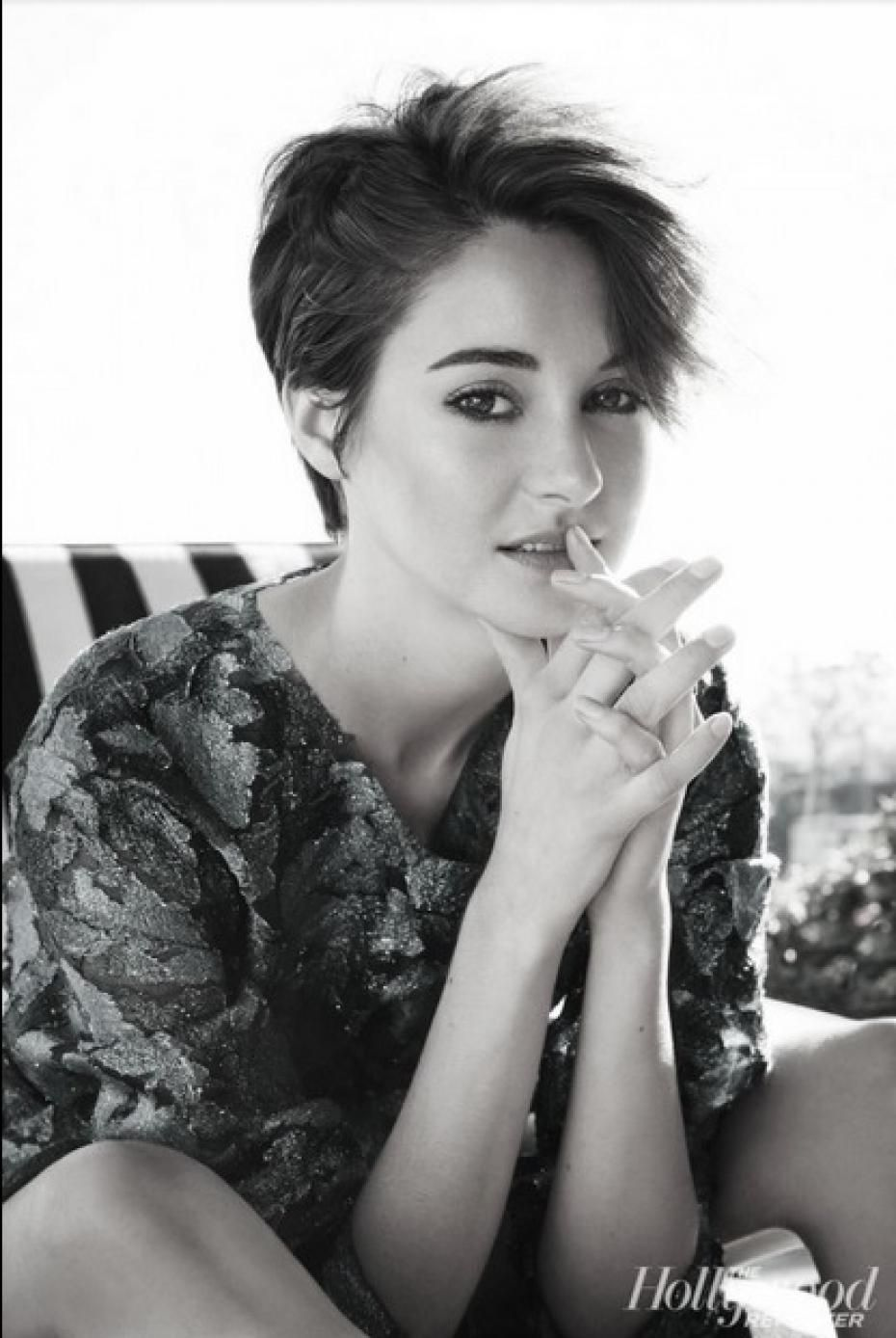 Shailene woodley sexy pour the hollywood reporter for Shailene woodley coupe de cheveux