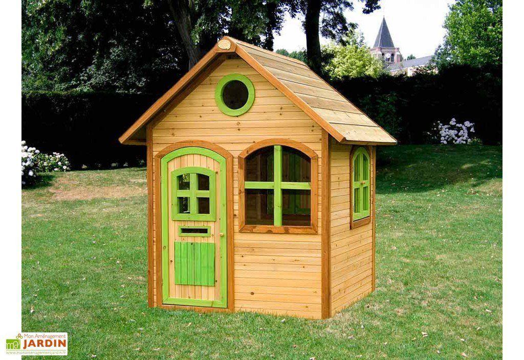 Maison Enfant Bois Julia   Maison enfant exterieur, Maisonnette en bois et Plan cabane