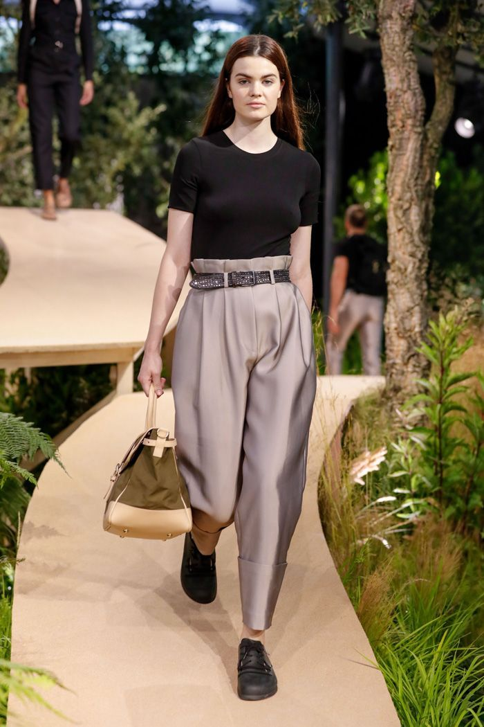 dbdb1c96103 Birkenstock just held its first-ever runway event in Paris. See which  trends are to come for the brand.