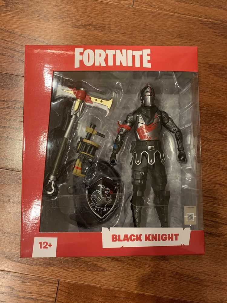 Fortnite Black Knight 7 Inch Figure Mcfarlane Toys Fortnite
