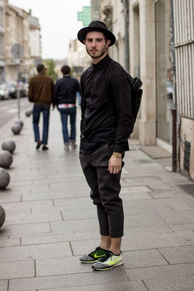 Alexander Wang Neoprene Pants and Nike Flyknit Racers #nike #flyknit #streetwear   * NIKE ...