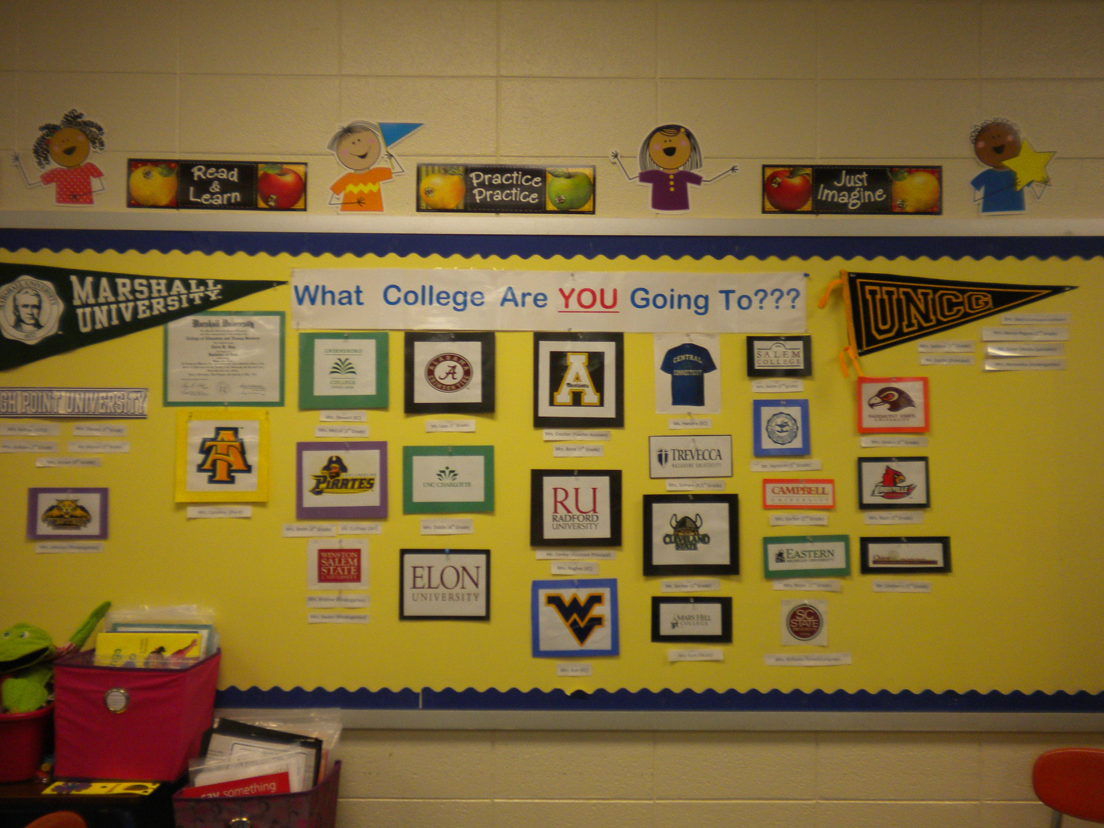 What college are you going to? We need to set high expectations, in ...
