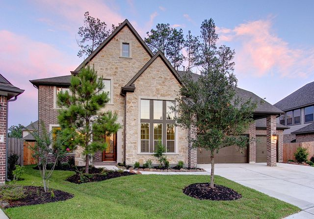17606 Boysen Court Westin Homes Eagle Springs Bellagio Elevation D Travisre 6 16 12 Front Elevation 3 Car Garage Culdesac 2 Westin Homes Home Landscaping Curb Appeal