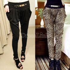Women New Style Girls Long Harem Pants Casual Slim Trousers