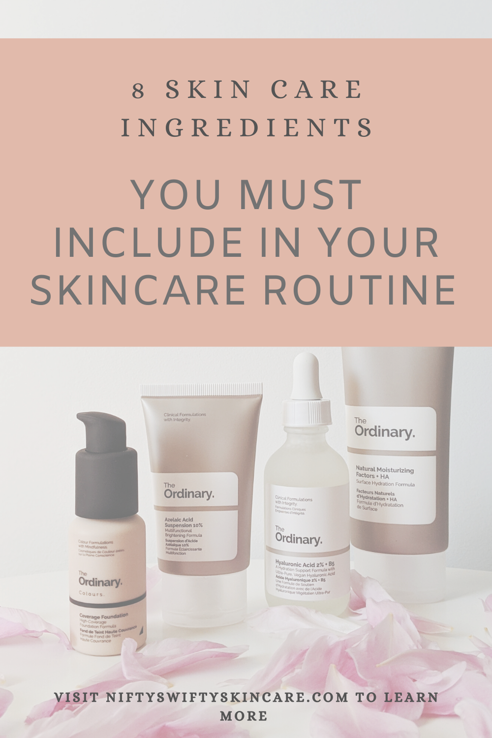 These 8 Skin Care Ingredients Can Save Your Skin In 2020 Skincare Ingredients Night Time Skin Care Routine Skin Care