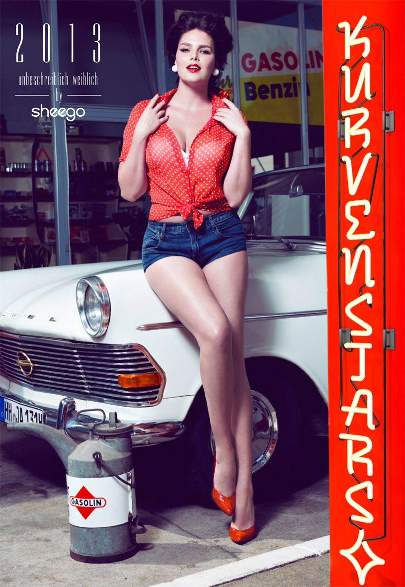 Der sheego Kurvenstars-Kalender 2013 mit Titelmodel ...