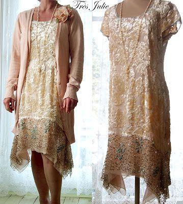 tr s julie mmm 20er jahre inspiriertes kleid mode der goldenen 20er pinterest 20er jahre. Black Bedroom Furniture Sets. Home Design Ideas