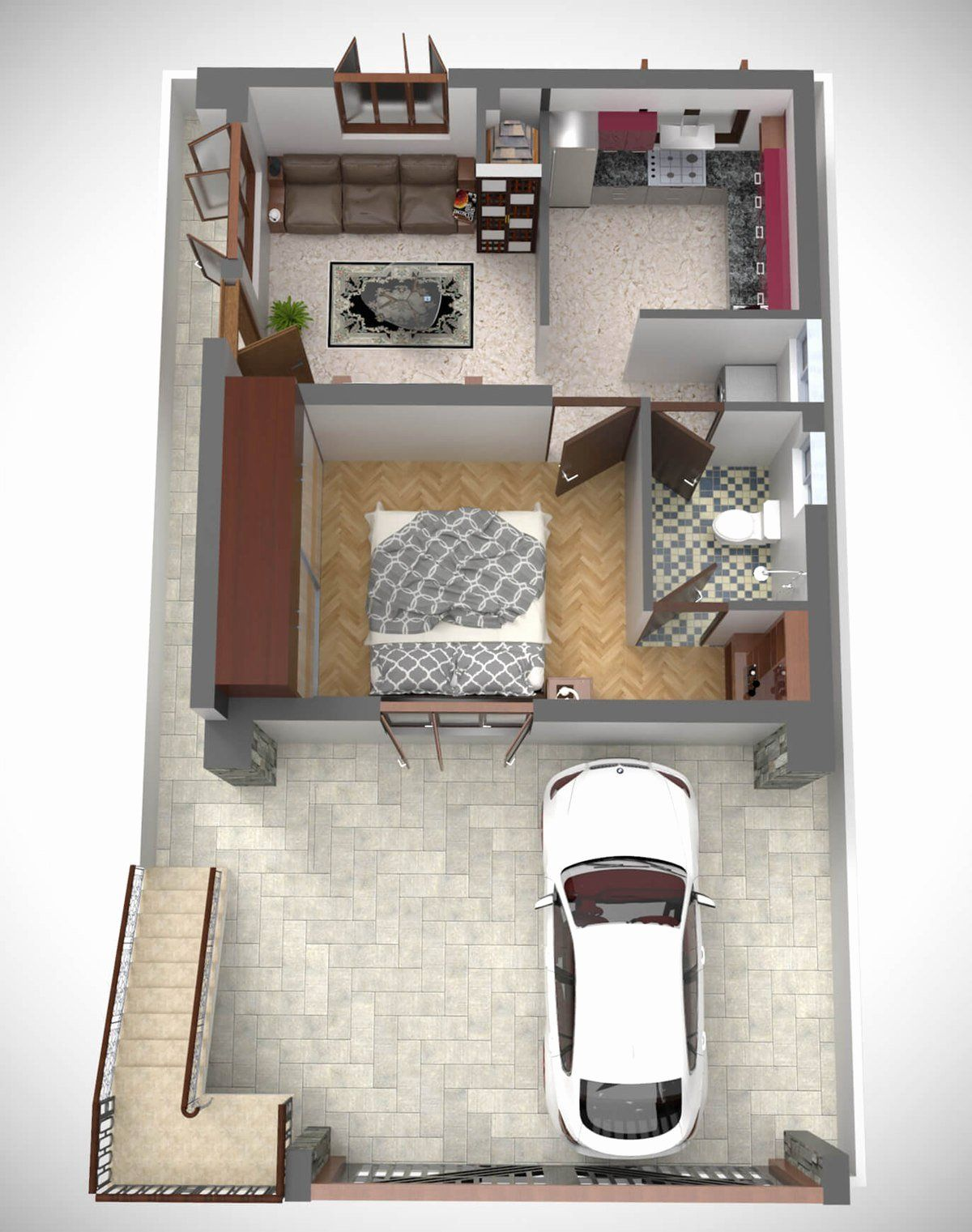 Create Bedroom Floor Plan Beautiful 3d Floor Plan Home Design Plans 3d House Plans Floor Plan Design